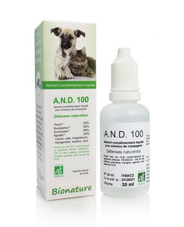 A.N.D 100 Résistances naturelles