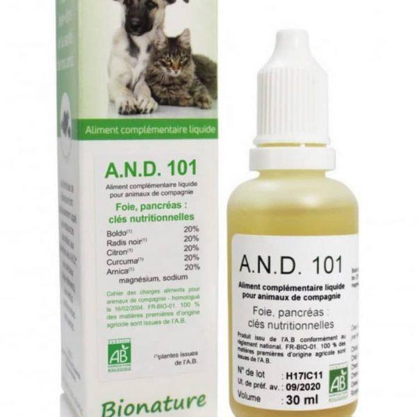 A.N.D 101 Détox Foie Digestion