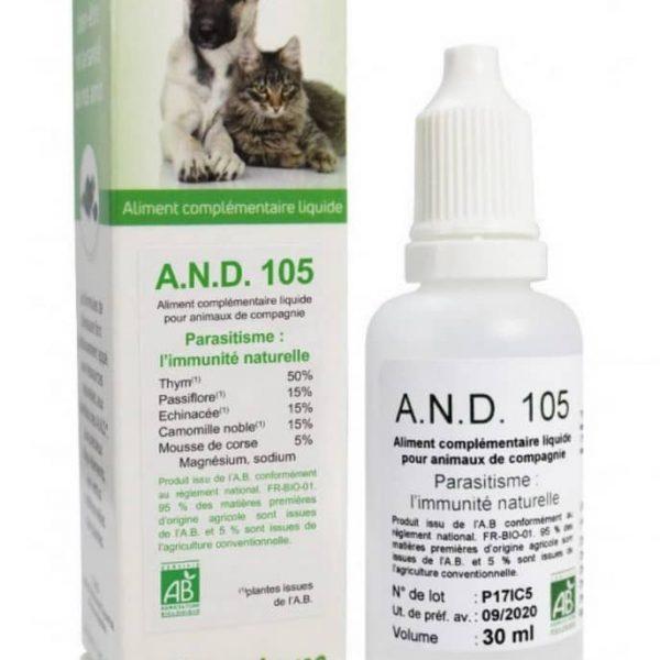 A.N.D 105 Défenses naturelles contre le parasitisme