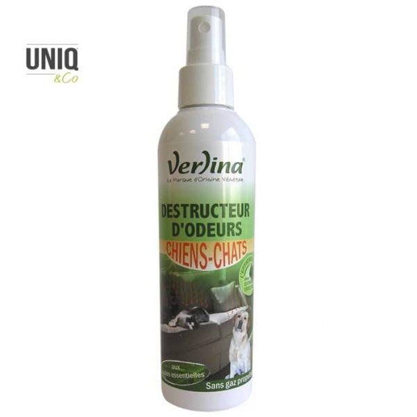 Destructeur d'odeurs chiens-chats