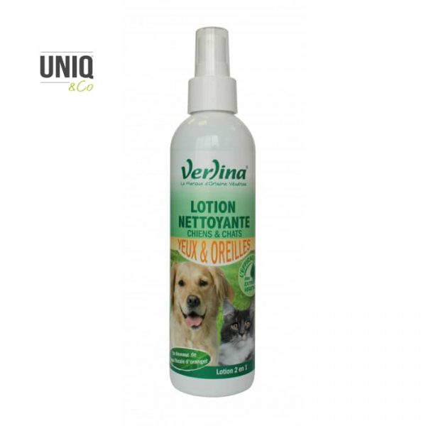 Lotion nettoyante yeux oreilles chiens-chats