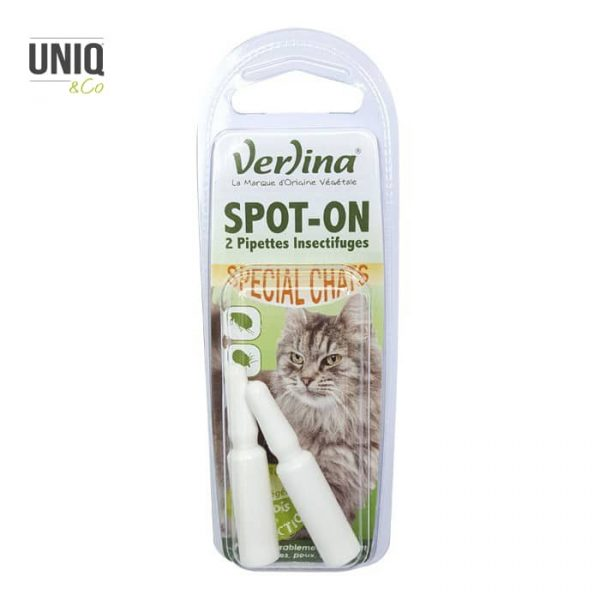 Insectifuge pour chat