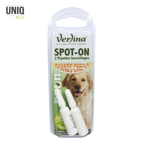 Insectifuge pour chien